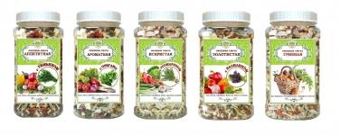 Овощи и овощные смеси в ПЭТ-банке